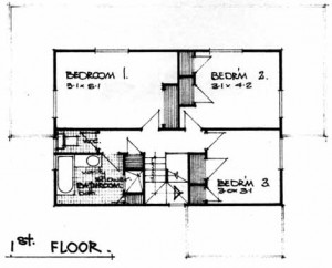 The Edwardian floor plan